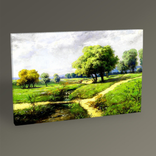 Tablo360 Hoca Ali Rıza Peyzaj Tablo 45 x 30
