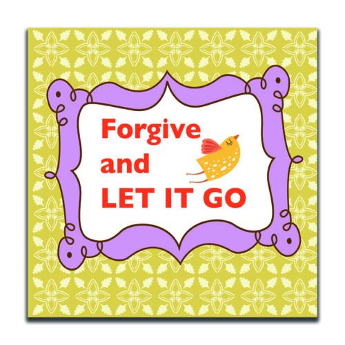 Dolce Home Forgive And Let It Go Dekoratif Tablo K20m50