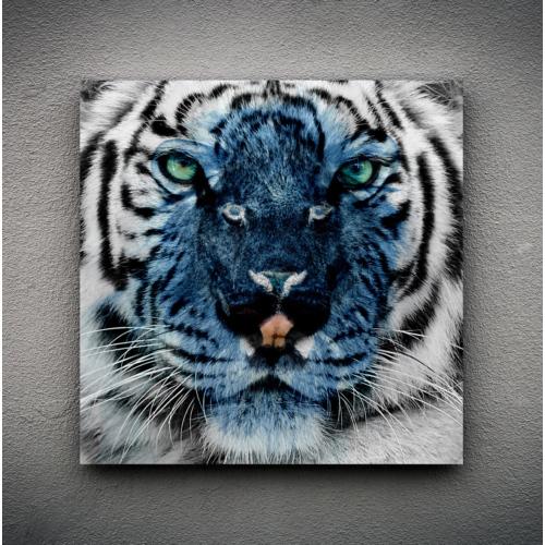 Zoodesignstudio Kanvas Tablo Leopar -2 - 50X50