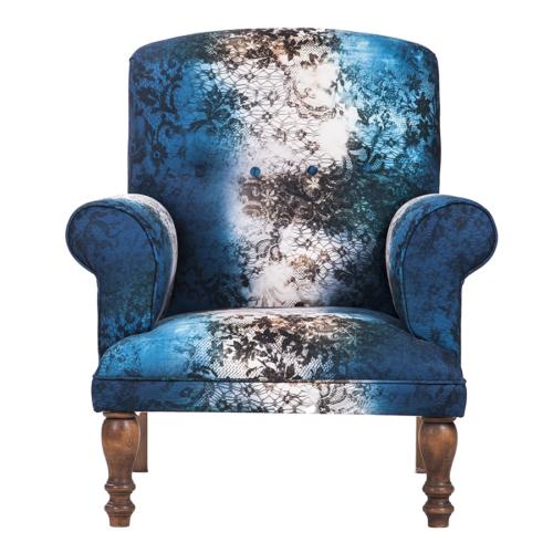 3A Mobilya Dark Side Of Blue Berjer - Mavi