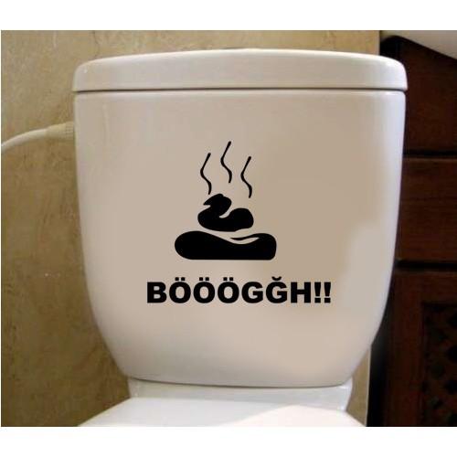 Tuvalet Sticker Bööğğ
