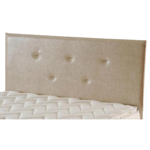 Zinde Yatak Manolya Düz Deri Yatak Başı - 120