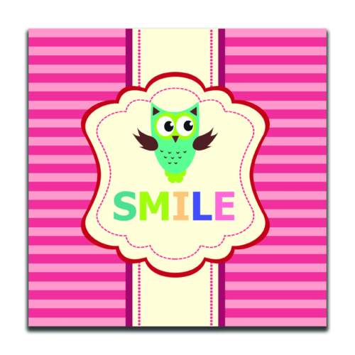 Dolce Home Smile Dekoratif Tablo K20m39