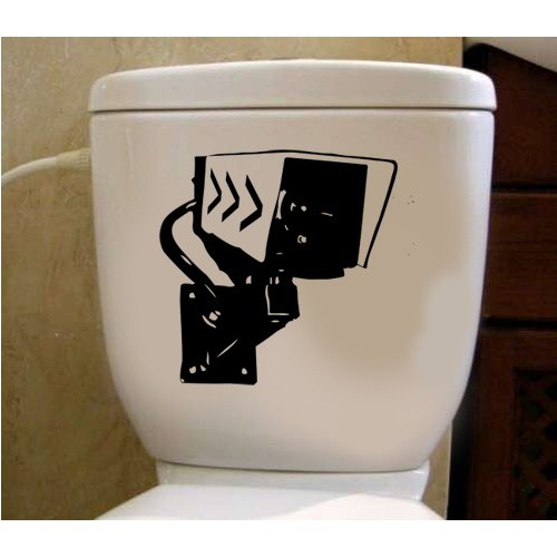 Tuvalet Sticker İşaretler