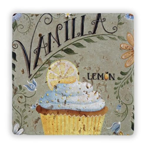 Oscar Stone Vanilla Cupcakes Taş Tablo