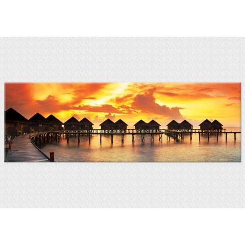 Pırıltı Vizyon Tropical Sunset Tablo