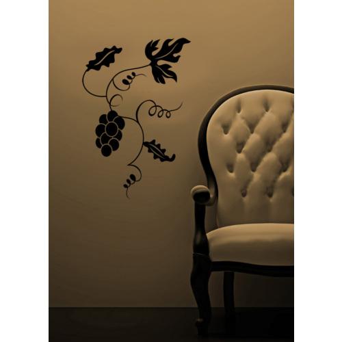 Üzüm Dalı Duvar Sticker