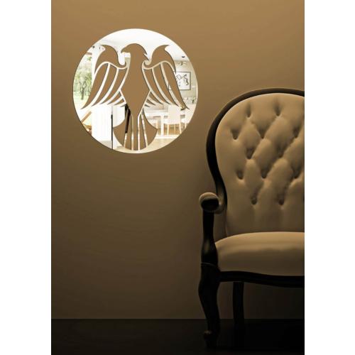 Dekoratif Kırılmaz Ayna Kuş Kanadı