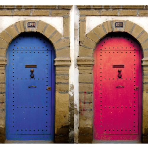 Fotocron Renkli Kapılar Tablo