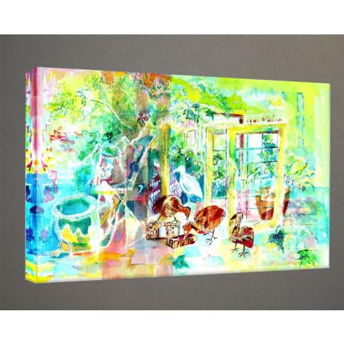 Kanvas Tablo - Soyut Modern Tablolar - Mts136