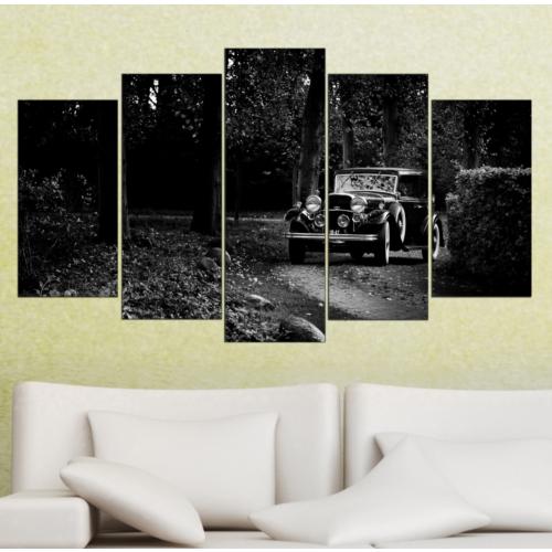 K Dekorasyon 3078 Mdf Tablo - 5 Parçalı