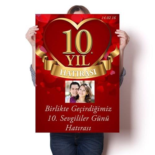 BuldumBuldum Altın Yıl Poster - Parlak Selefonlu