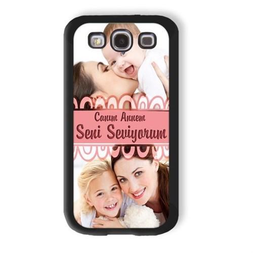BuldumBuldum Anneye Özel Mesajlı - İphone 4/4S Kılıfı Beyaz