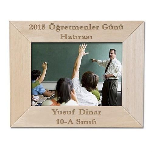 BuldumBuldum Öğretmenler Günü Hatırası Ahşap Çerçeve