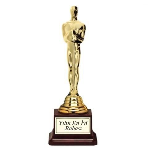 BuldumBuldum Oscar Ödülü - Kişiye Özel Yazılı Büyük Boy