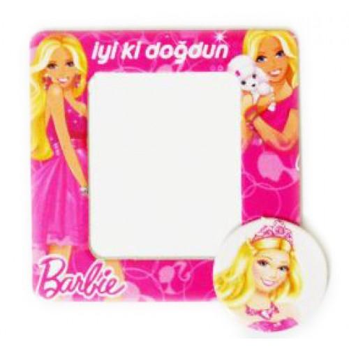 Parti Şöleni Barbie Magnet