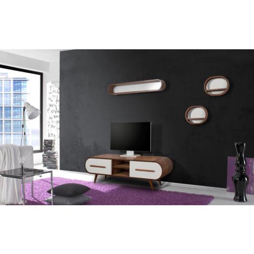 Te Home Retro Oval 4 Modül Tv Ünite