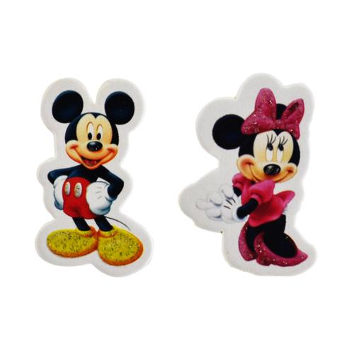 Tahtakale Toptancısı Sticker Karton Minnie Mouse / Miki Mouse (50 Adet)
