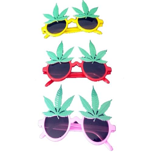 Tvs Marijuana Maruana Yaprağı Şekilli Parti Gözlüğü