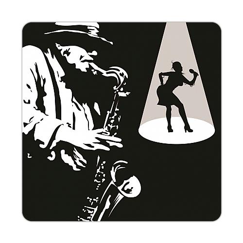 Fotografyabaskı Jazz Bardak Altlığı Baskı 4'lü Set