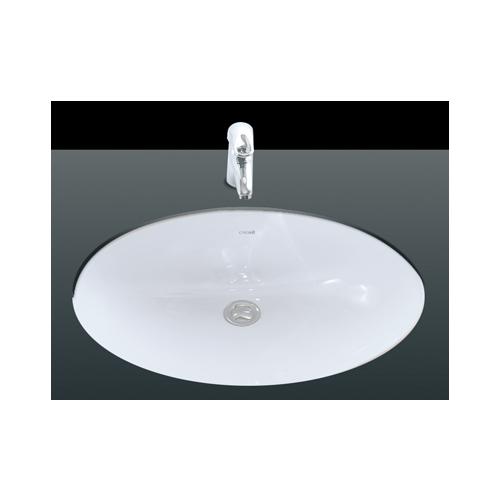Creavit Tezgah Altı Oval Lavabo 40X52 Cm Beyaz