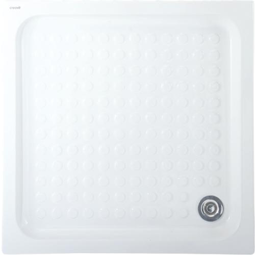 Creavit Kare Duş Teknesi 80X80 Cm Beyaz