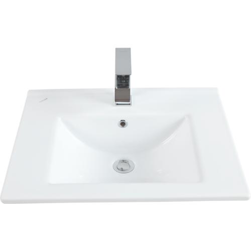 Creavit Su Dolap Uyumlu Lavabo 45X65 Cm Beyaz