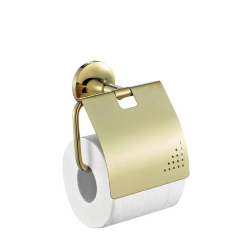 Creavit Neo Kapaklı Tuvalet Kağıtlığı Altın