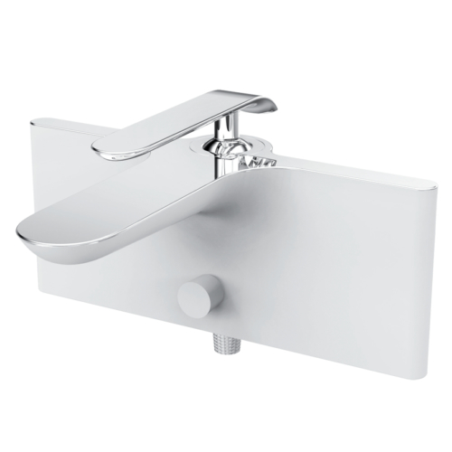 Creavit Bloom Beyaz Banyo Armatürü