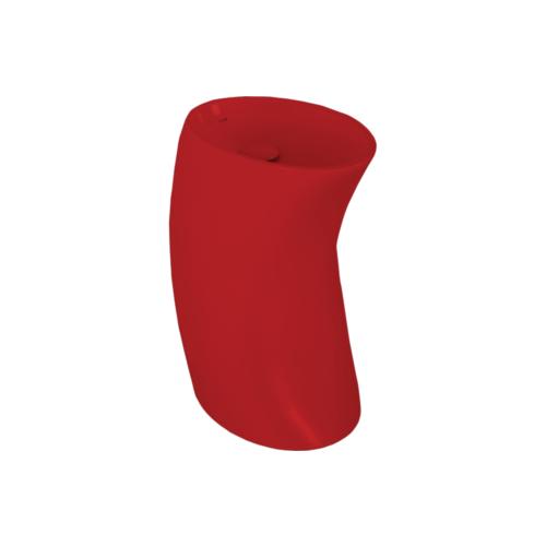 Creavit Colon Lavabo 40X60 Cm - Kırmızı