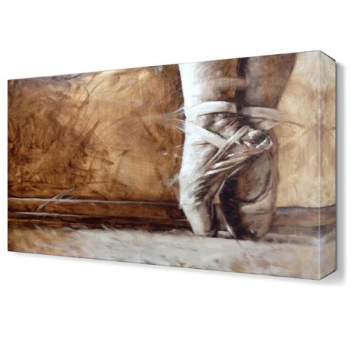 Dekor Sevgisi Minik Ayaklar Canvas Tablo 45x30 cm