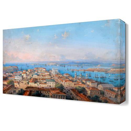 Dekor Sevgisi Osmanlı Zamanı Canvas Tablo 45x30 cm