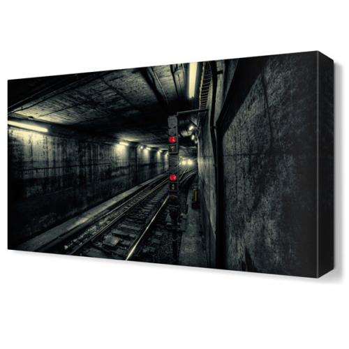 Dekor Sevgisi İstasyon Tablosu 45x30 cm
