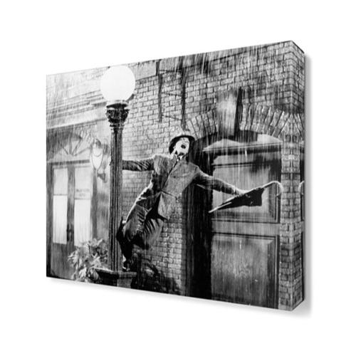 Dekor Sevgisi Sevinen Adam Tablosu 40x40 cm