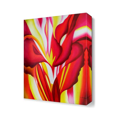 Dekor Sevgisi Sevgi Çiçeği Tablosu 45x30 cm