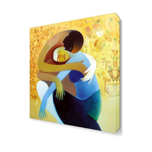 Dekor Sevgisi Sarılma Tablosu 45x30 cm