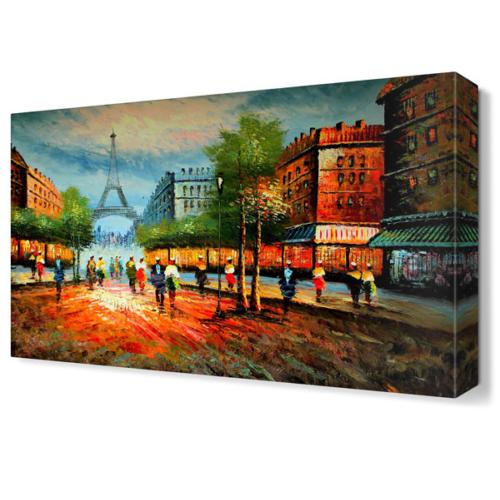 Dekor Sevgisi Paris Tablosu 45x30 cm