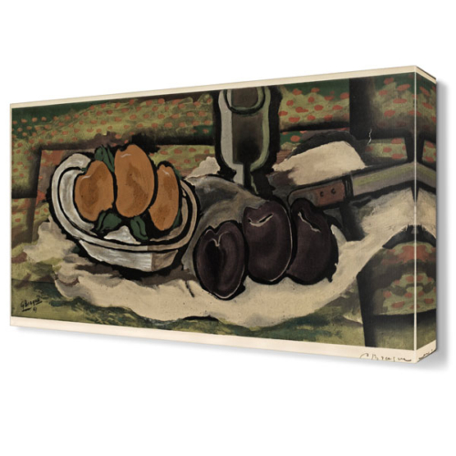 Dekor Sevgisi Georges Braque Tablosu 45x30 cm