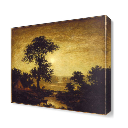 Dekor Sevgisi Ralp Albert Blakelock Tablosu 40x40 cm