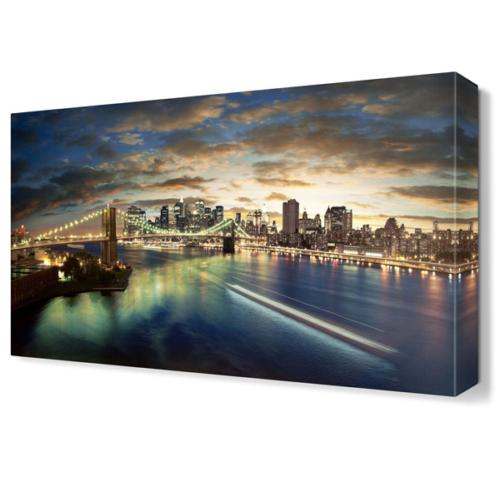 Dekor Sevgisi Brooklyn Gece Tablosu 45x30 cm