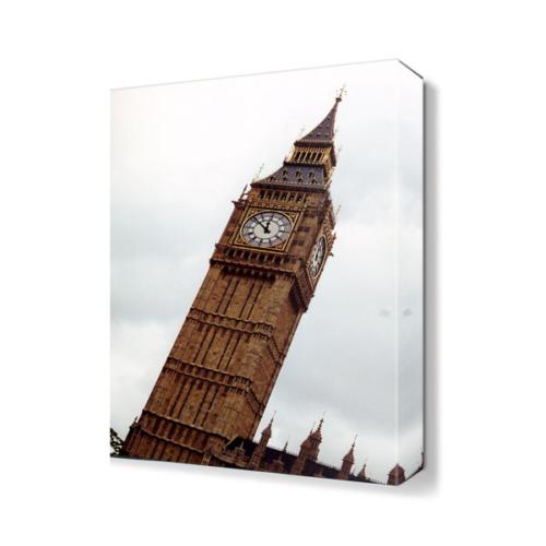 Dekor Sevgisi Saat Kulesi Tablosu 45x30 cm
