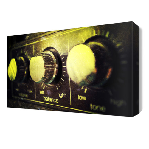 Dekor Sevgisi Müzik Ayarları Tablosu 45x30 cm