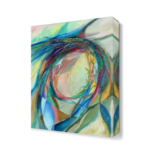 Dekor Sevgisi Yüzsüz Kadın Tablosu 45x30 cm