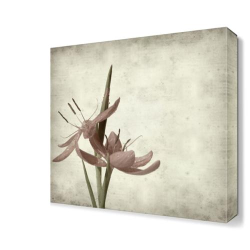 Dekor Sevgisi Güzel Pembe Çiçek Tablosu 40x40 cm