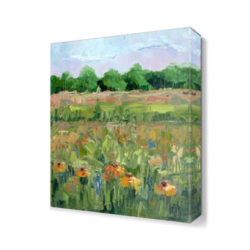 Dekor Sevgisi Çiçek Tarlası Canvas Tablo 45x30 cm