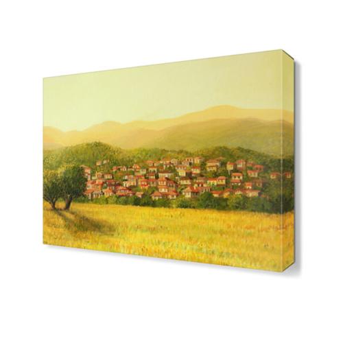 Dekor Sevgisi Köy ve Tarla 2 Tablo 45x30 cm
