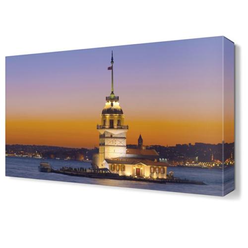 Dekor Sevgisi Kız Kulesi4 Canvas Tablo 45x30 cm