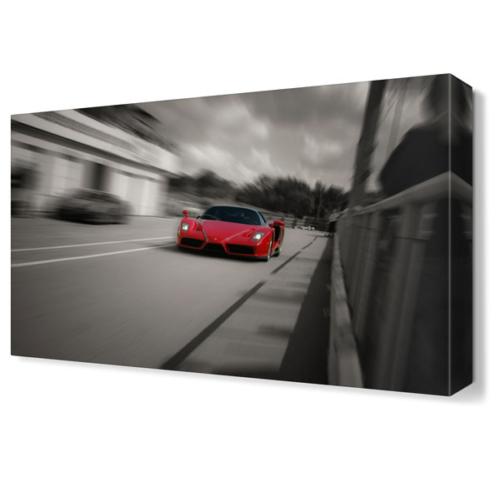 Dekor Sevgisi Ferrari2 Canvas Tablo 45x30 cm