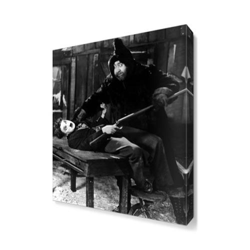 Dekor Sevgisi The Gold Rush Charlie Chaplin Canvas Tablo 45x30 cm