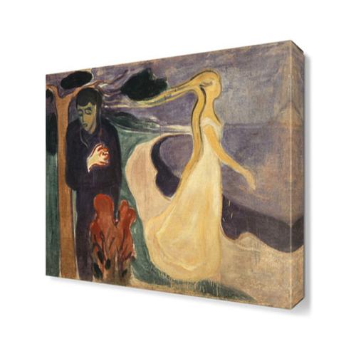 Dekor Sevgisi Ayrılık Canvas Tablo 45x30 cm